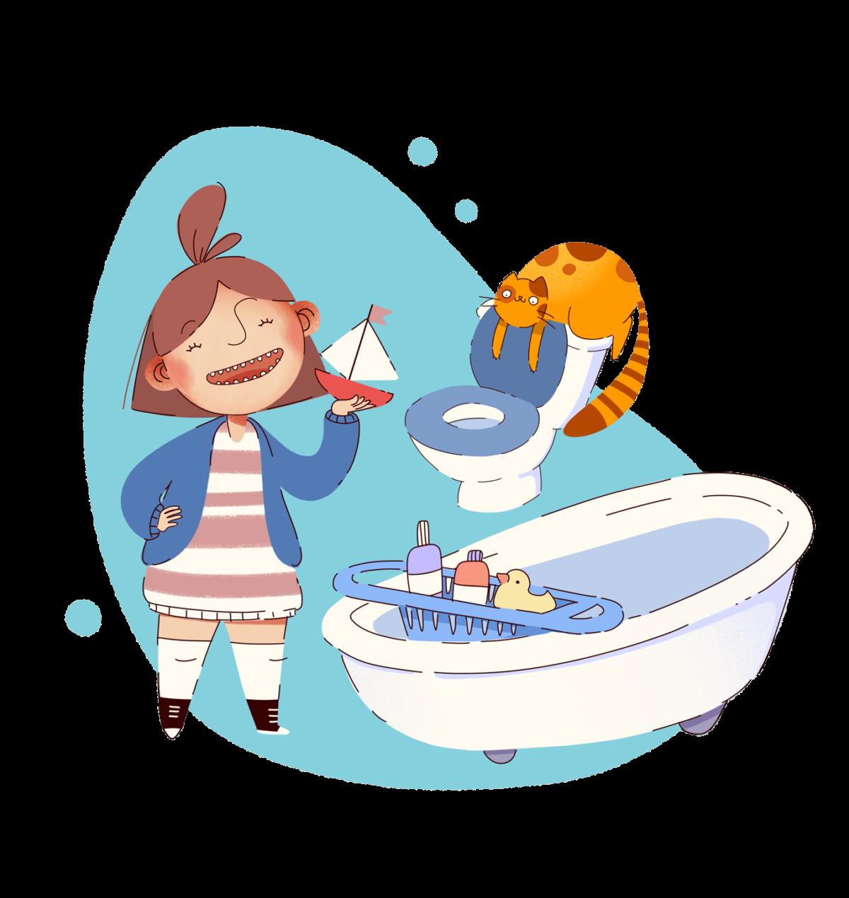 Elunia płyn do czyszczenia łazienek Czystuś